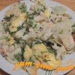 Рецепт запеченого картофеля с цветной капустой