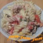 Как приготовить макароны по-флотски с помидорами