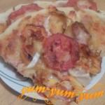 Как приготовить пиццу с помидорами