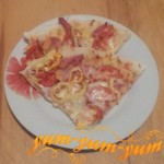 Как приготовить пиццу с ветчиной и помидорами