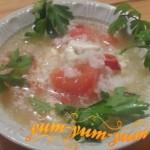 Как приготовить суп из помидоров