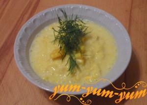 Как приготовить суп-пюре из кукурузы