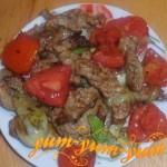 Как приготовить жареную свинину с помидорами