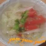 Как сварить суп из свежих помидоров