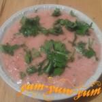 Приготовление холодного супа из помидоров гаспачо