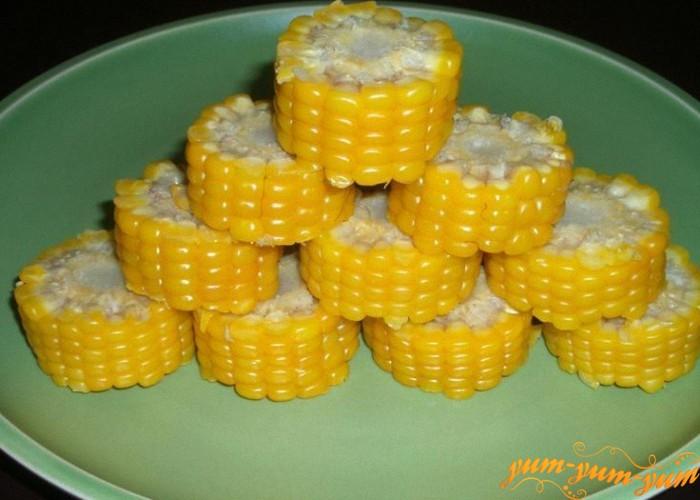 Брусочки кукурузы вареные в пакете