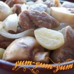 Как приготовить баранину с грибами в горшочках