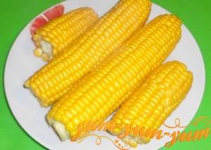 Как приготовить кукурузу на пару