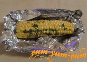Рецепт запеченной кукурузы в фольге