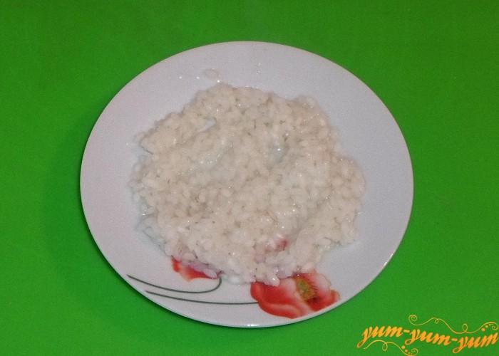 Рис сварить до готовности