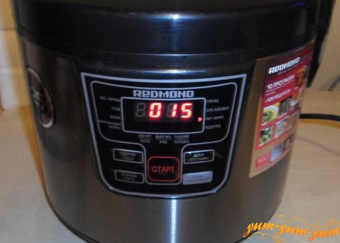 Варить кукурузу на пару 15 минут
