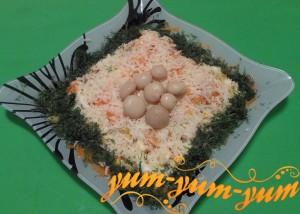 Как приготовить грибной салат с шампиньонами