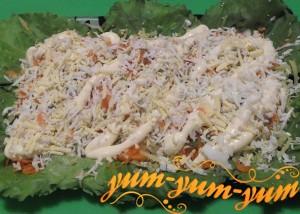Как приготовить салат из курицы и огурцов