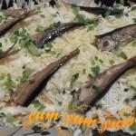 Как приготовить салат рыбки в пруду