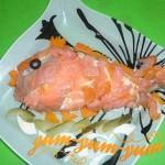 Рецепт салата золотая рыбка