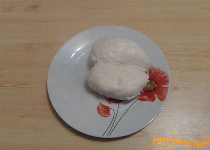 Готовое мясо вынуть и охладить