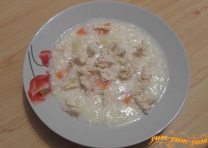 Как сыр расплавится суп можно подавать к столу