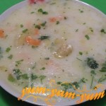 Как приготовить французский сырный суп