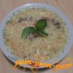 Рецепт суп сырного супа с копченостями