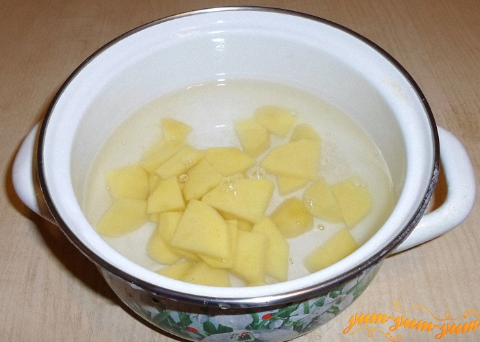 Сварить картошку до готовности