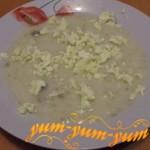 Рецепт овощного крем-супа с грибами