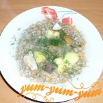 Рецепт супа из мороженных белых грибов