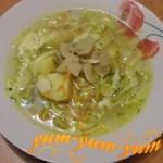 Рецепт супа с грибами и капустой