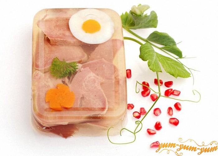 Мясное блюдо из языка