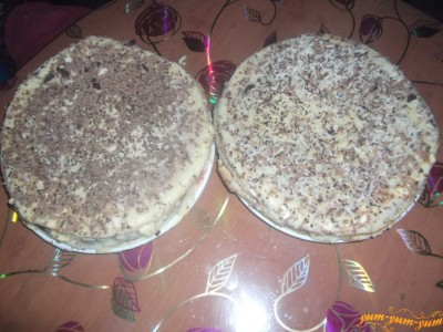 Слоеный торт с заварным кремом рецепт