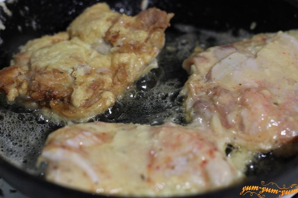 куриные бедра в кляре на сковороде рецепт с фото