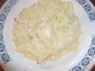 Картошка с макаронами