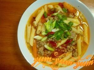 суп из свинины с картошкой рецепт с вермишелью
