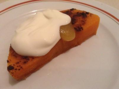 Запеченная в духовке тыква с медом