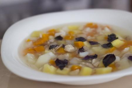 Детский суп из перепелки