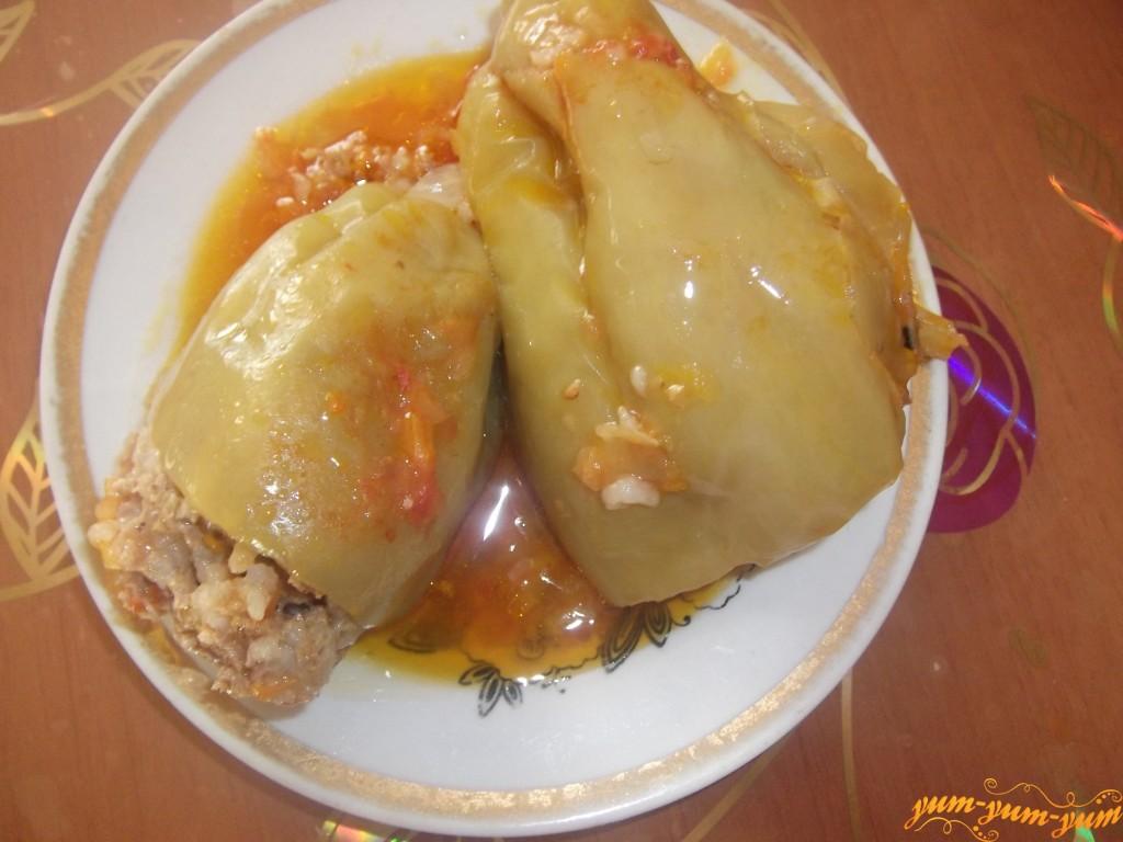 Перцы фаршированные рецепт с пошагово в кастрюле с рисом и мясом