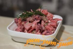 Витаминный салат для зимы