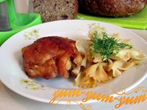 Курица в соевом соусе и меду