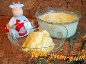 Домашнее мороженое на сливках