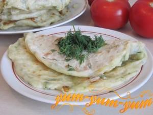 Хычины с сыром и картошкой