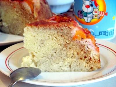 Пирог со сливой в мультиварке