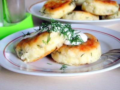 Сырники из творога и картофеля
